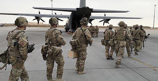 Forsvaret påbegynder rutinemæssig rotation af soldaterne i Irak