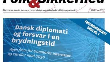 Brief om den sikkerhedspolitiske situation og NATO