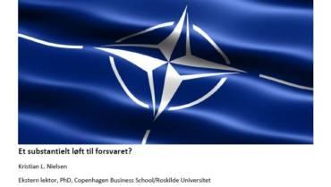Et substantiel løft til Forsvaret?