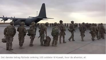 Danske soldater genoptager træning af irakiske soldater