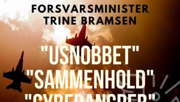 Podcast – Forsvaret under krisen / Interview med Forsvarsministeren