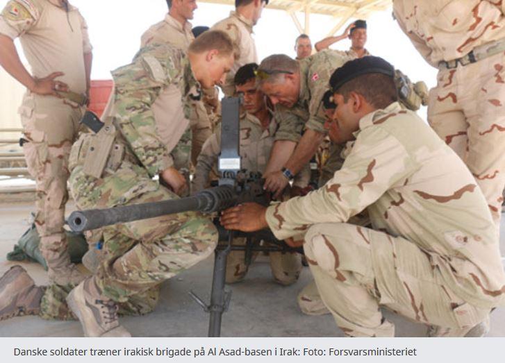 Regeringen udsender markante nye militære bidrag til Mellemøsten