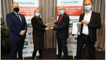 Forsvarsministeriet vinder Den Danske Supply Chain Pris 2019