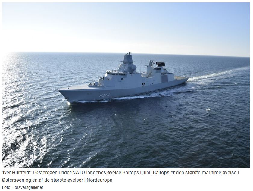Danmark overtager kommandoen over operation i Hormuz-strædet